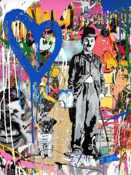 MBW Chaplin Blue Heart