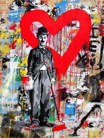 MBW Chaplin Red Heart