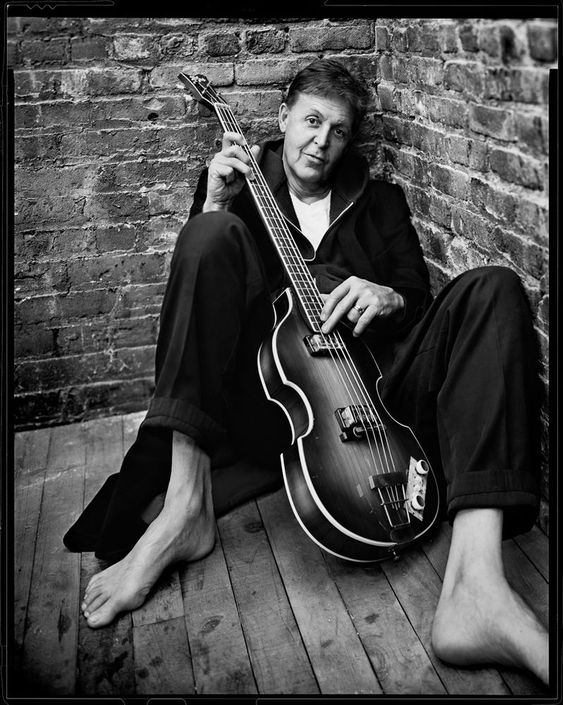 Paul McCartney New York NY 2001 By Mark Seliger