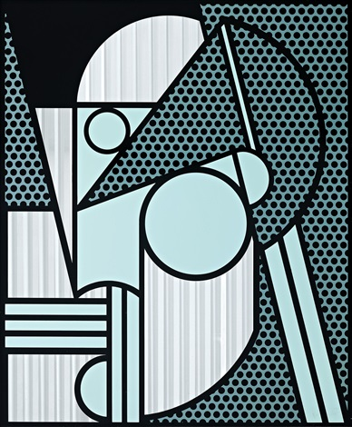 Roy Lichtenstein Modern Head 4