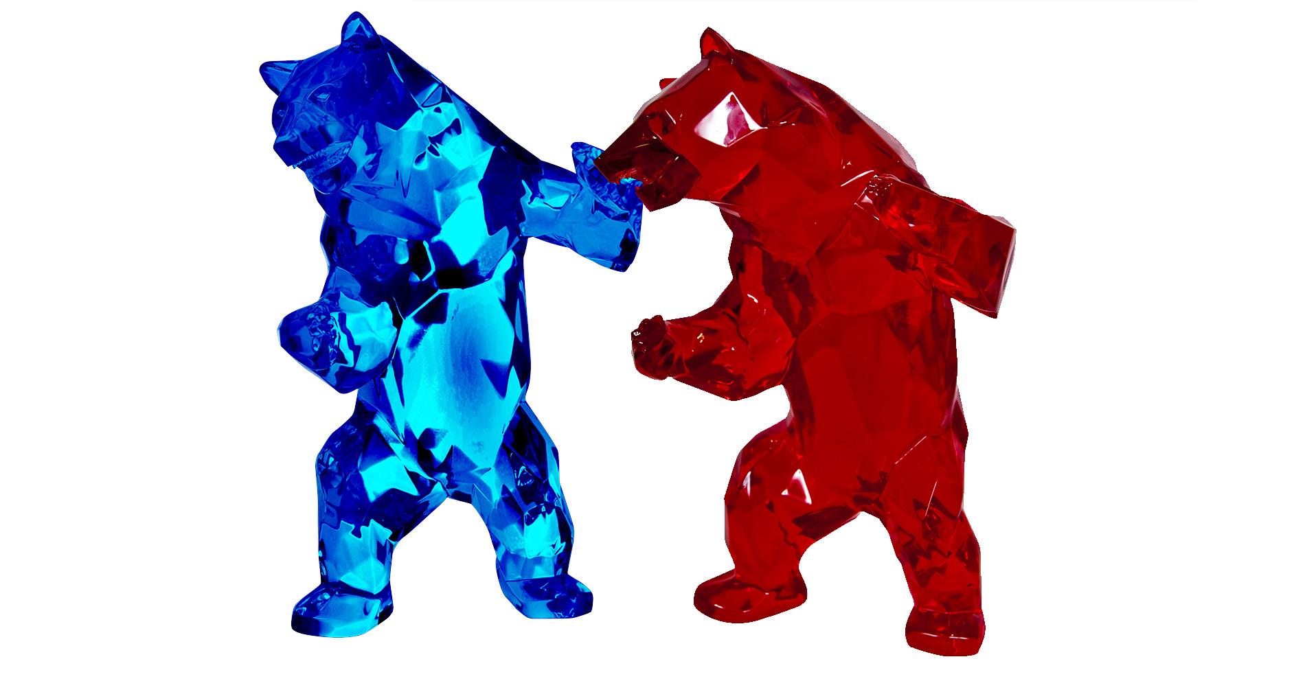Standing Bear 2 by Richard Orlinski