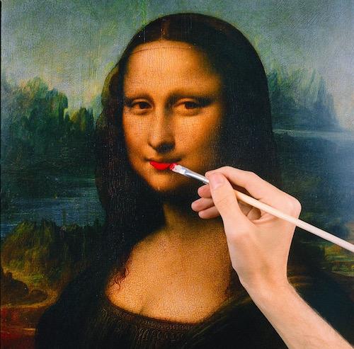 Tyler Shields Mona Lisa