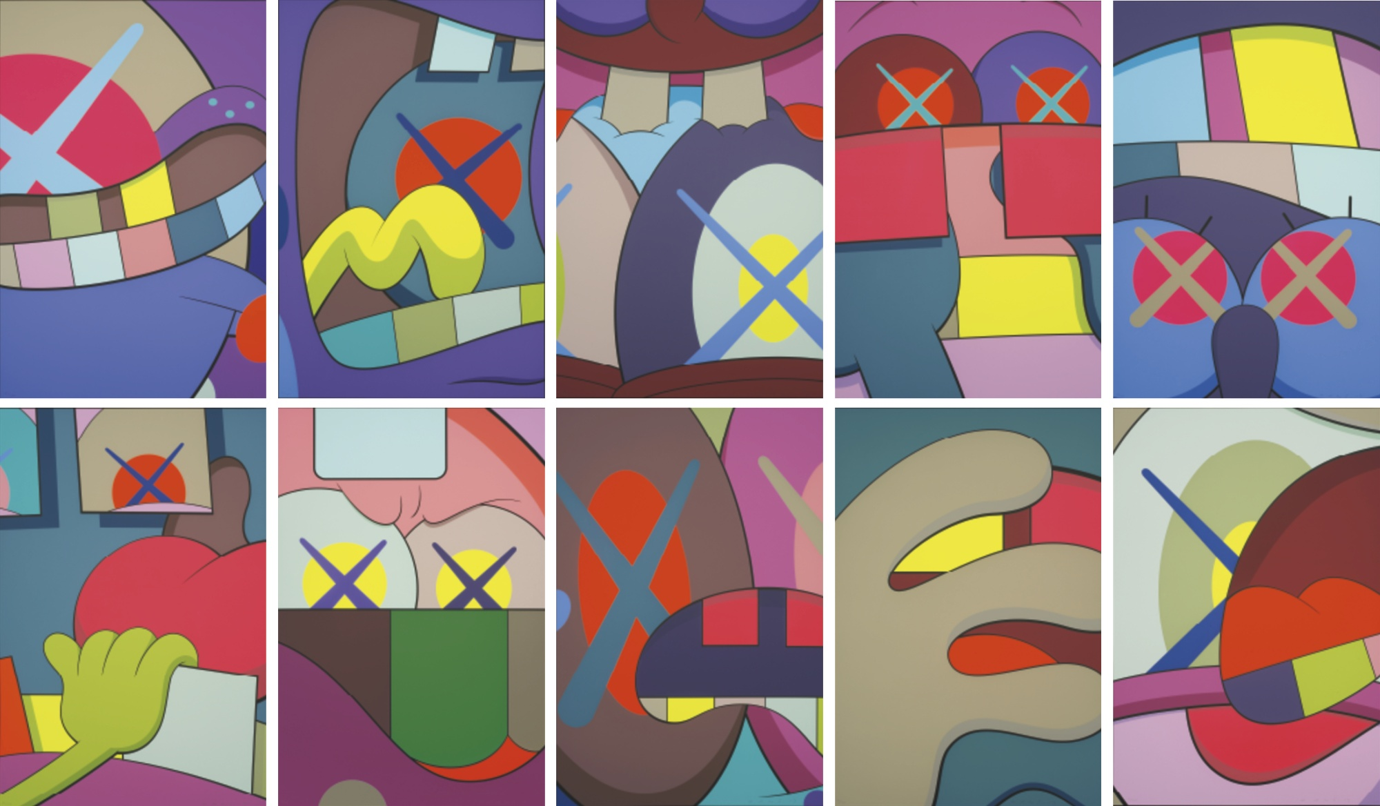Ups and Downs by KAWS