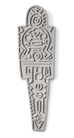 Totem Concrete by Keith Haring