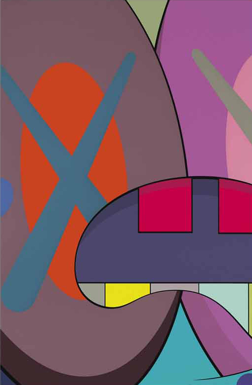 ups and downs 3 by kaws
