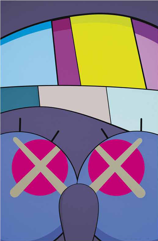 ups and downs 7 by kaws