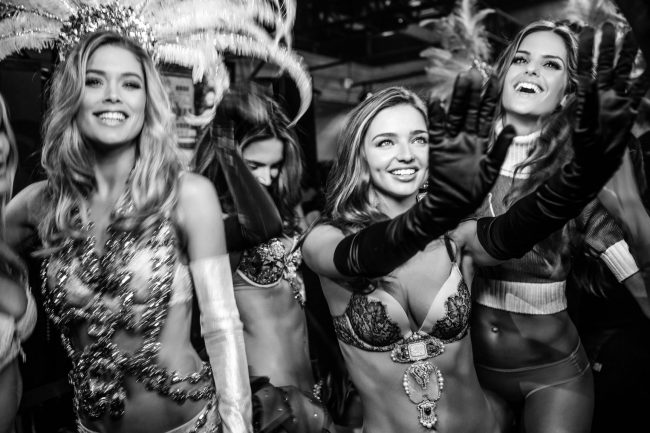Doutzen Kroes, Miranda Kerr, Izabel Goulart, New York, 2012 by Russell James