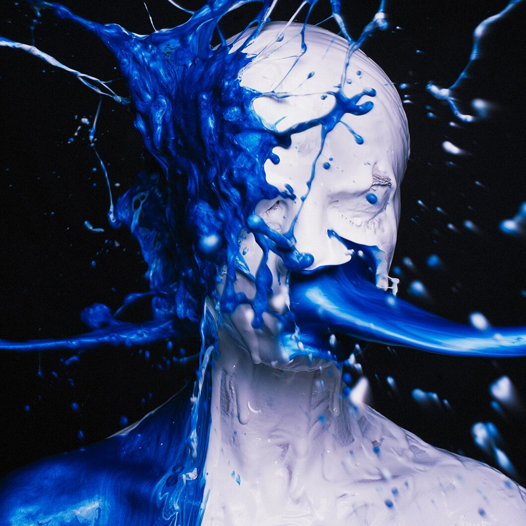White Black and Blue by Tyler Shields