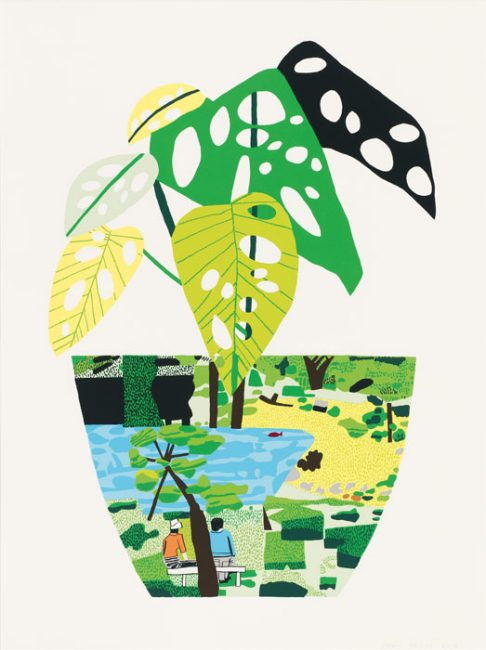 Wood/Kusama: Painting from Nature, Wood/Kusama: Painting from Nature