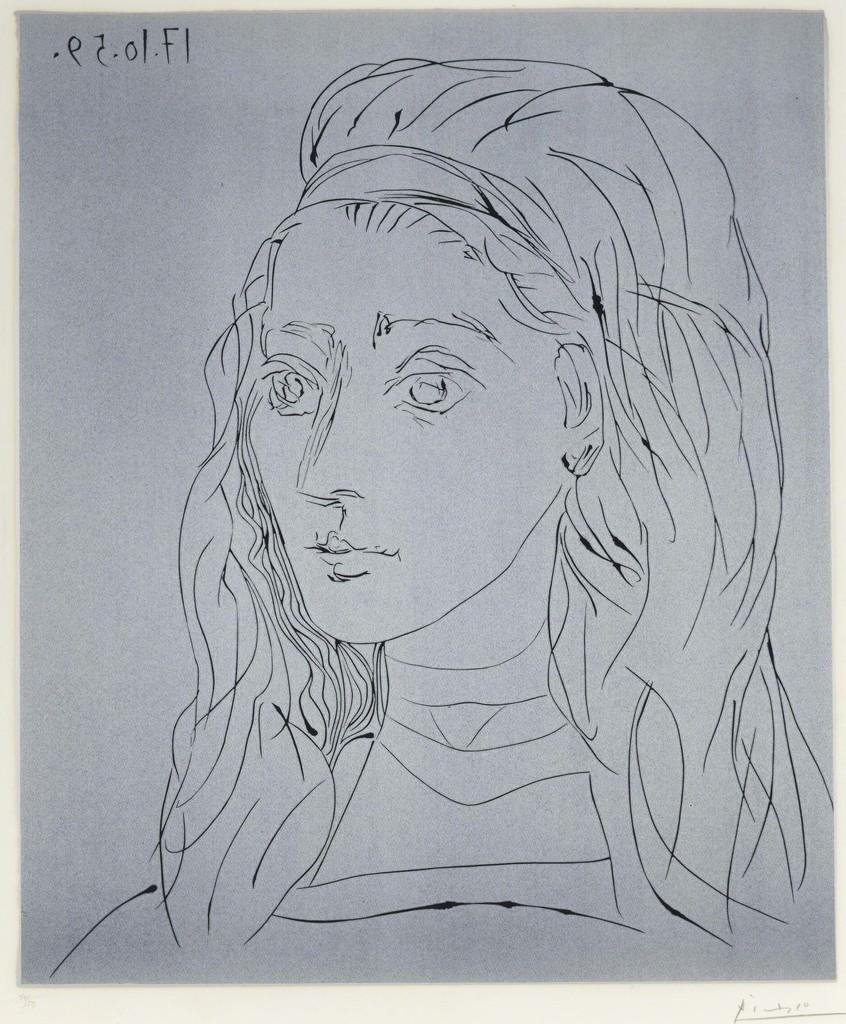 Portrait de Jacqueline by Picasso