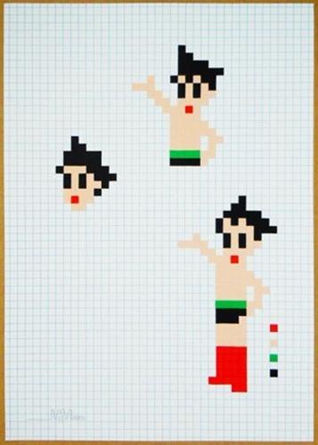 Astro Boy by Invader