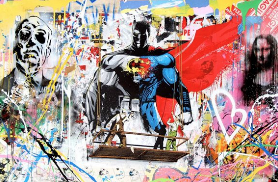 Mr. Brainwash Batman v Superman