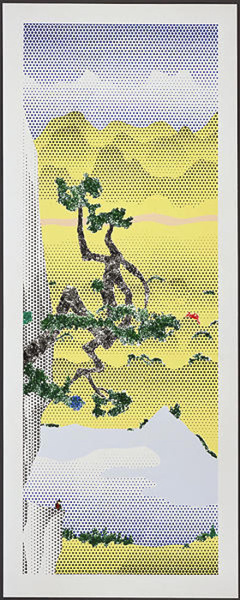 Roy Lichtenstein Landscape With Poet-1