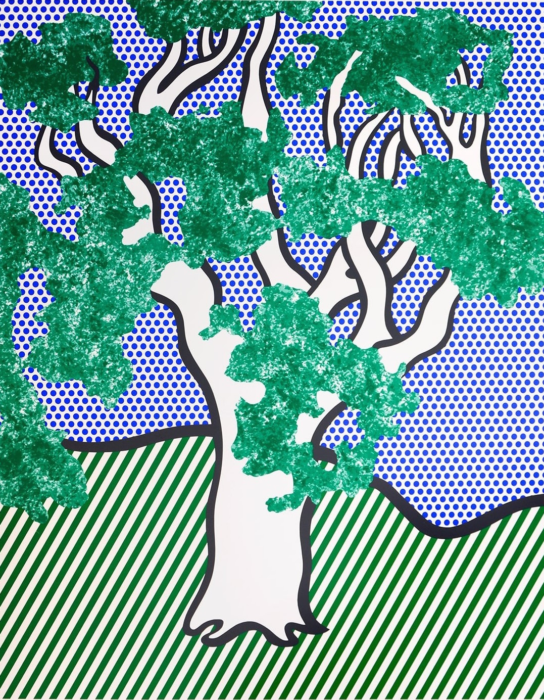 rain forest by roy lichtenstein