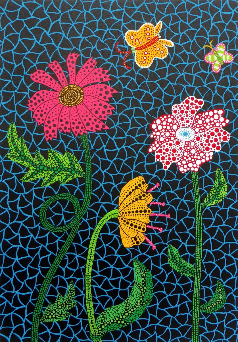 Flowers By Yayoi Kusama for Sale