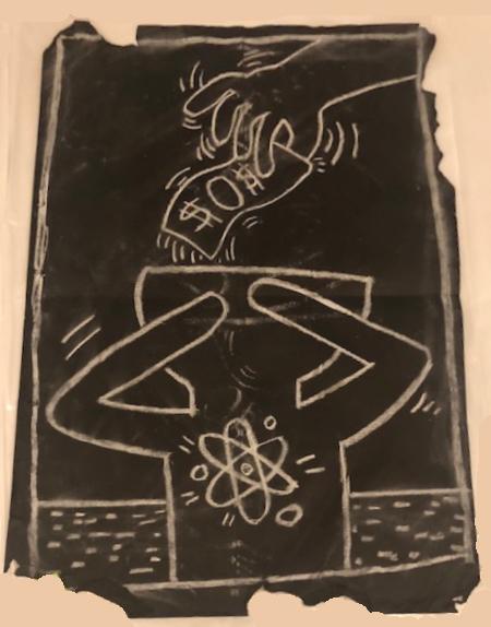 Untitled 11 (Subway Drawing) By Keith Haring