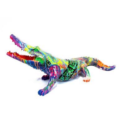 Pop Crocodile By Richard Orlinski