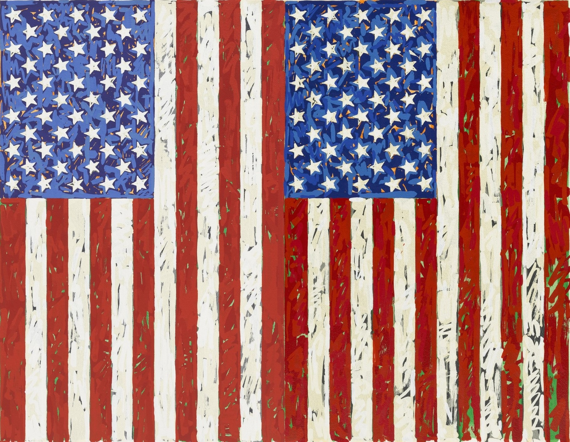 Flags by Jasper Johns