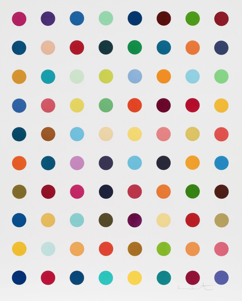 gly gly ala damien hirst