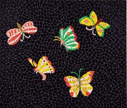Butterfly II by Yayoi Kusama