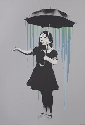 Banksy Nola Blue