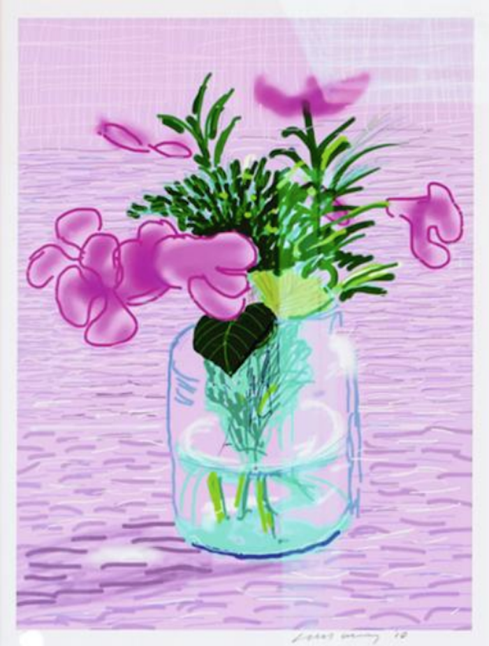 David Hockney iPad Drawing Untitled 329, 2010