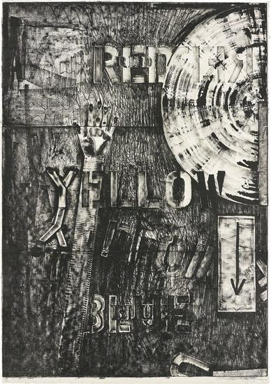 Lands End By Jasper Johns
