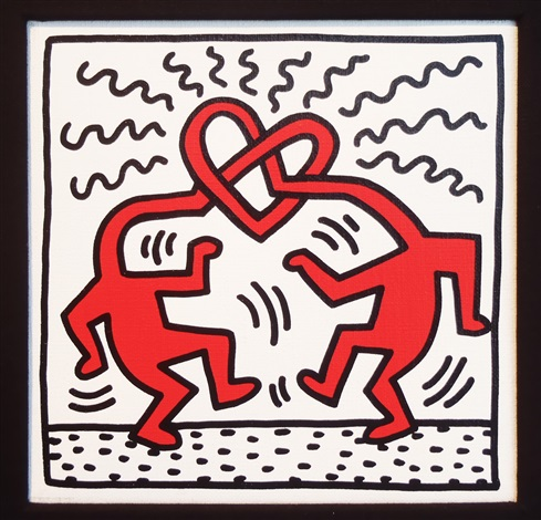 Untitled Love by Keith Haring