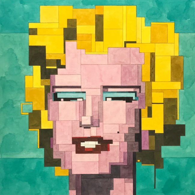 Marilyn (after Warhol) by Adam Lister