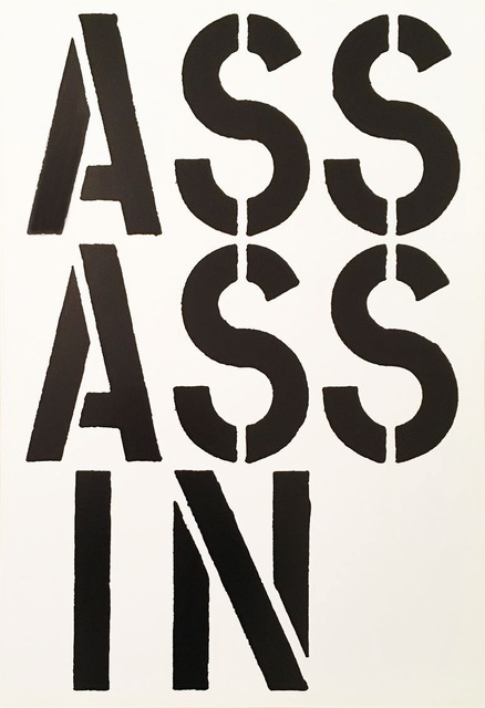 Assassin by Christopher Wool