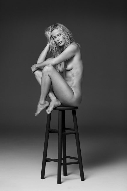 Carolyn on Set Stool by Russell James