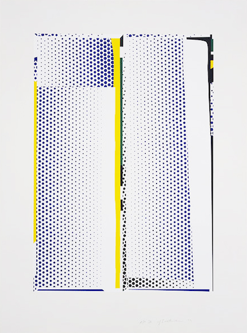 Mirror #9 by Roy Lichtenstein