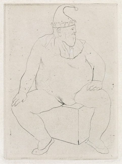 Saltimbanque au Repos by Picasso