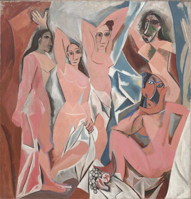 Les Demoiselles D'Avignon by Picasso