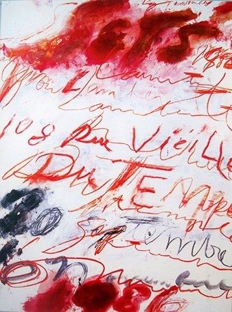 1986 by Cy Twombly
