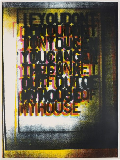 Christopher Wool, Christopher Wool: The Abstraction of Text