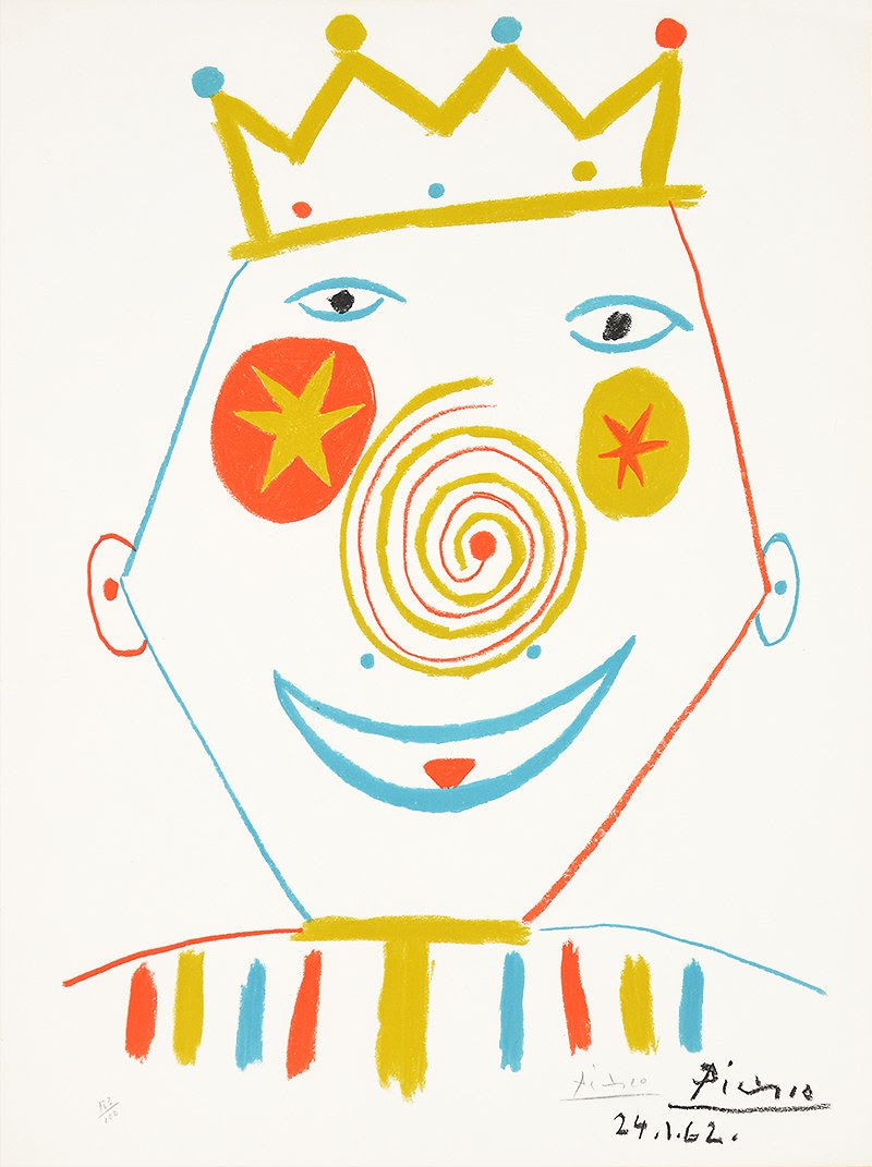 Le Clown By Picasso