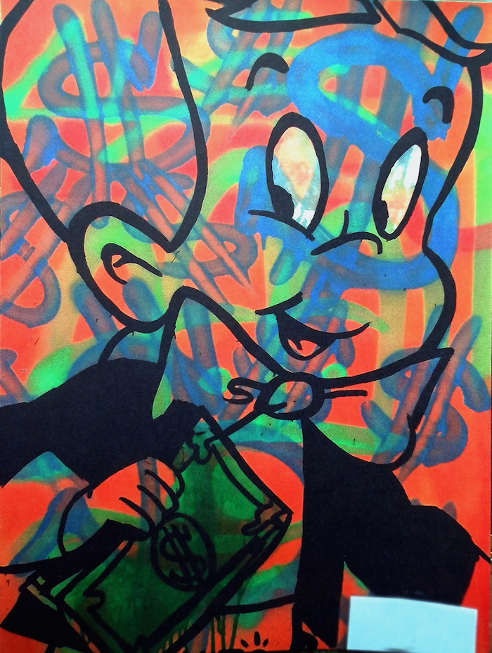 Richie Rich Kaleidoscope by Alec Monopoly