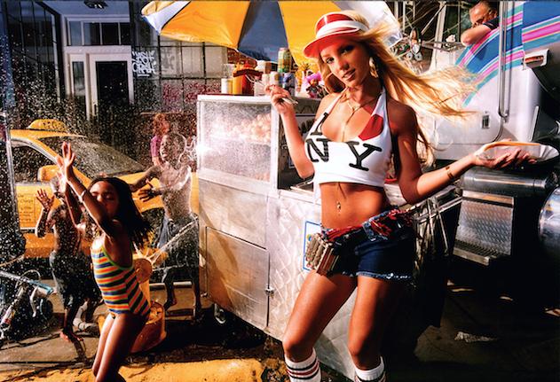 Britney NYC Street Scene by David LaChapelle