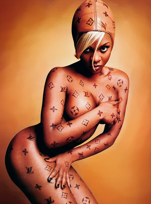 Lil Kim Luxury Item by David LaChapelle