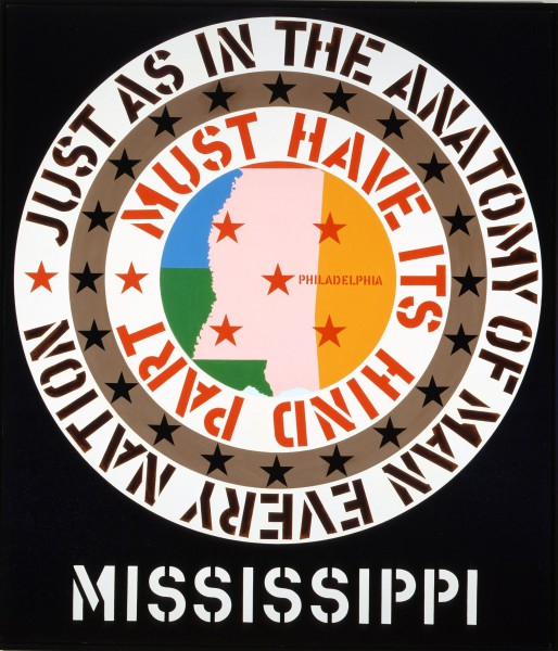 Mississippi by Robert Indiana