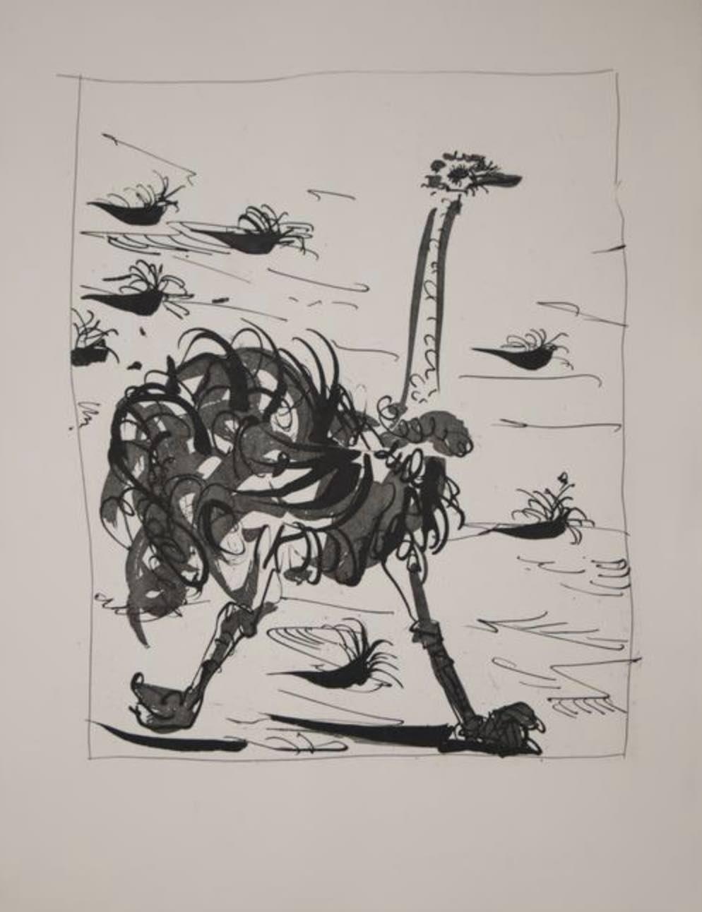 L'Autruche by Picasso
