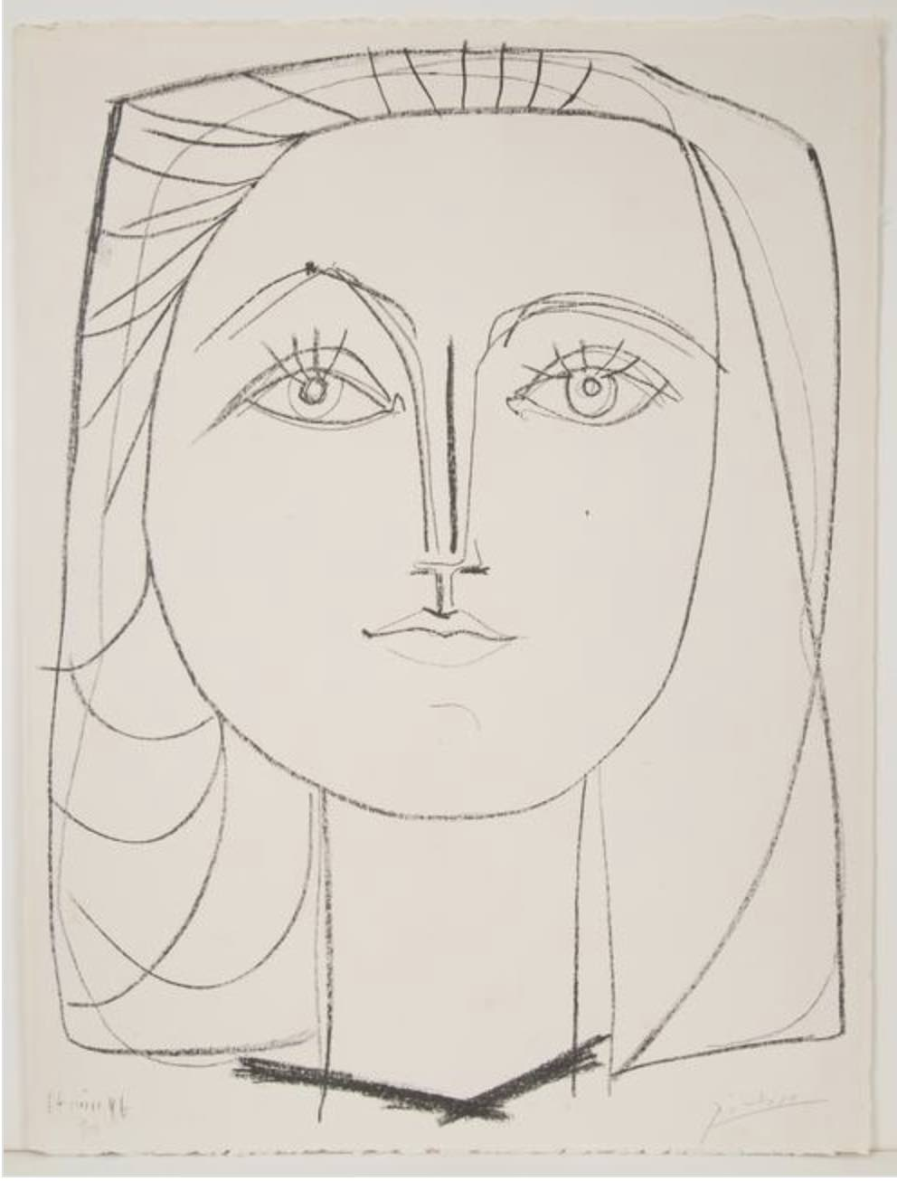 Françoise by Picasso