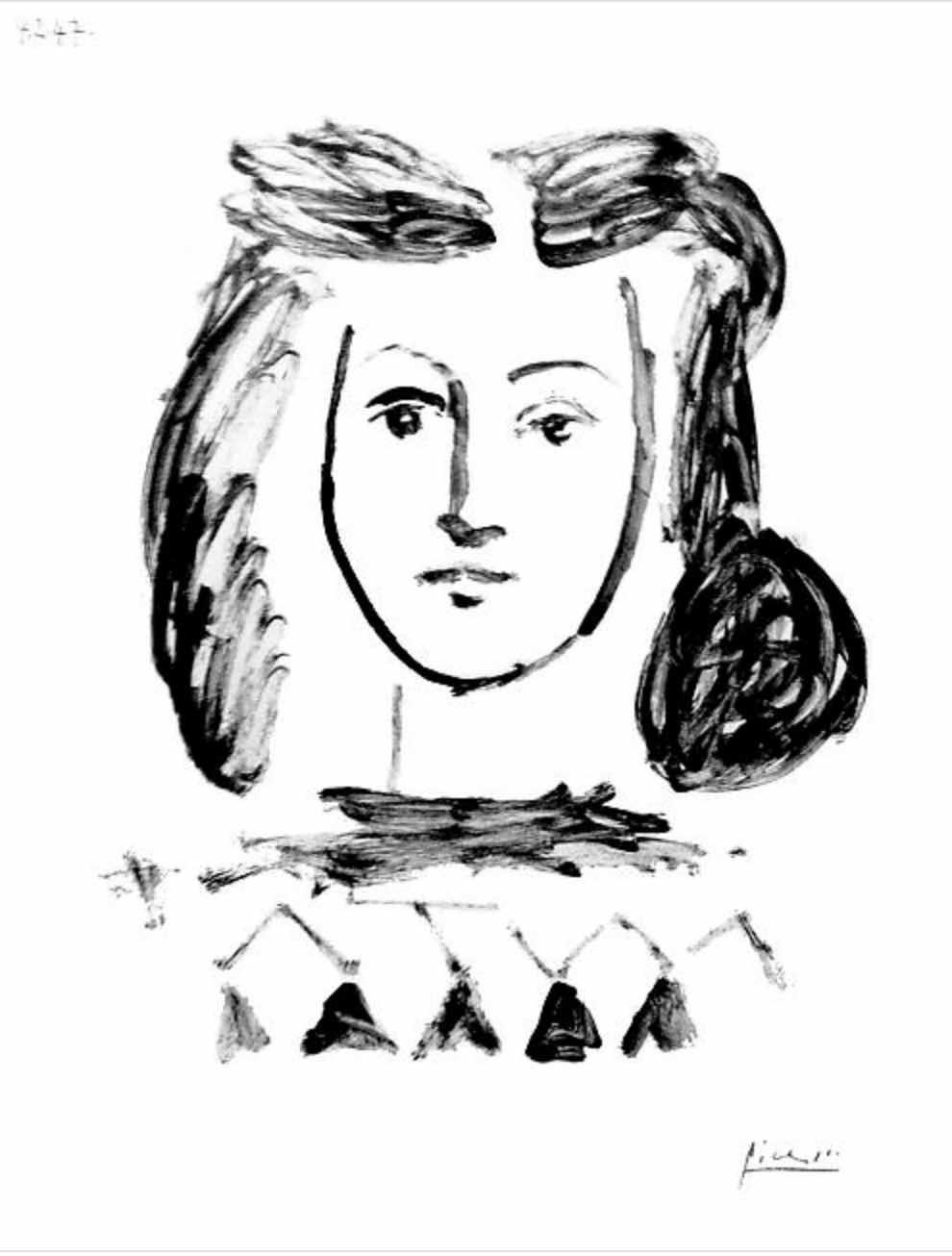Buste de Jeune Fille by Picasso