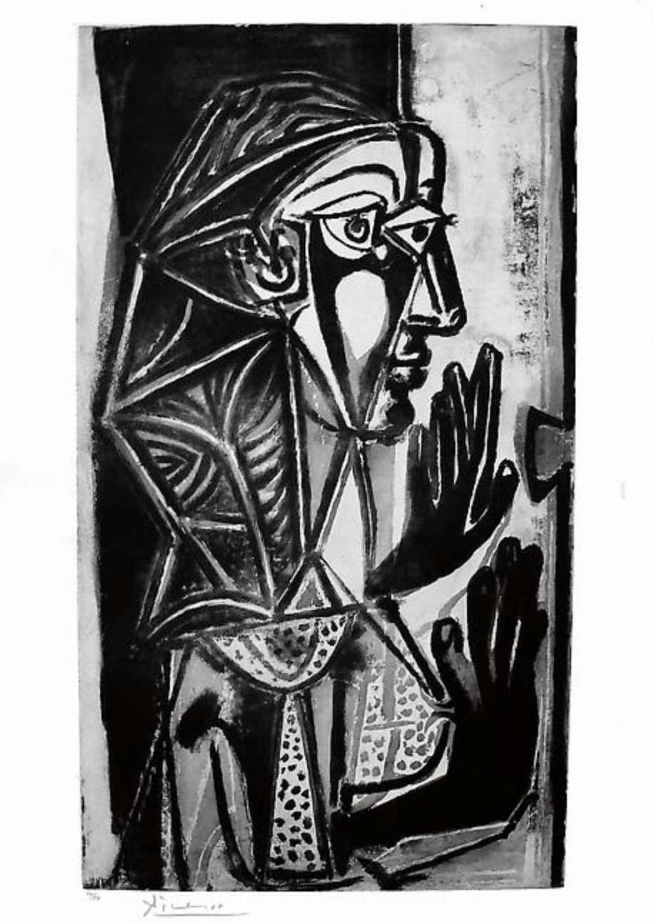 La Femme a la Fenêtre by Picasso