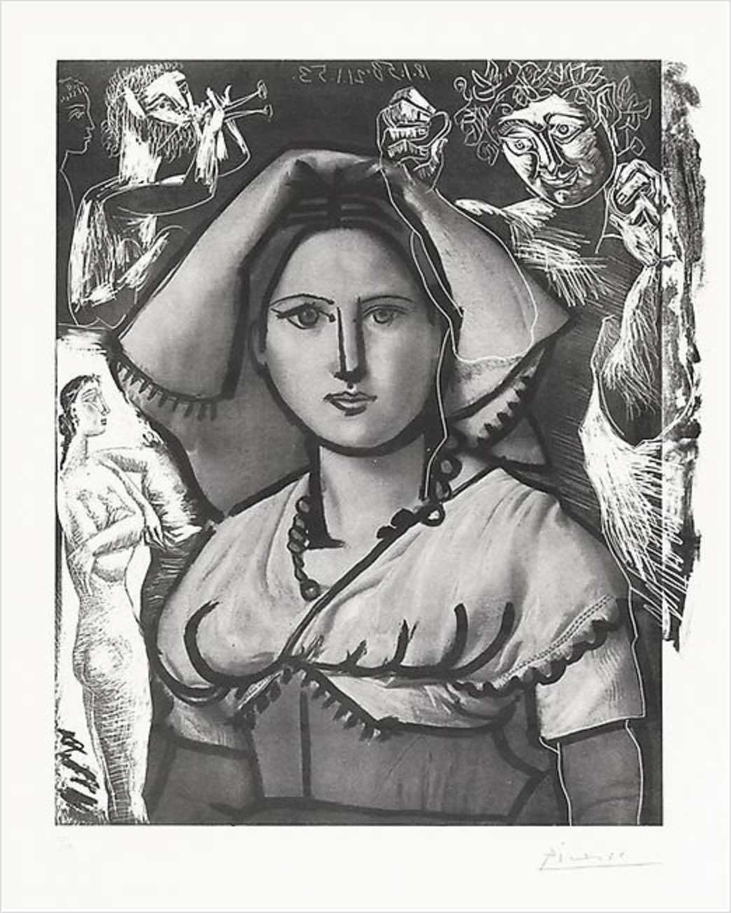 L'Italienne By Picasso