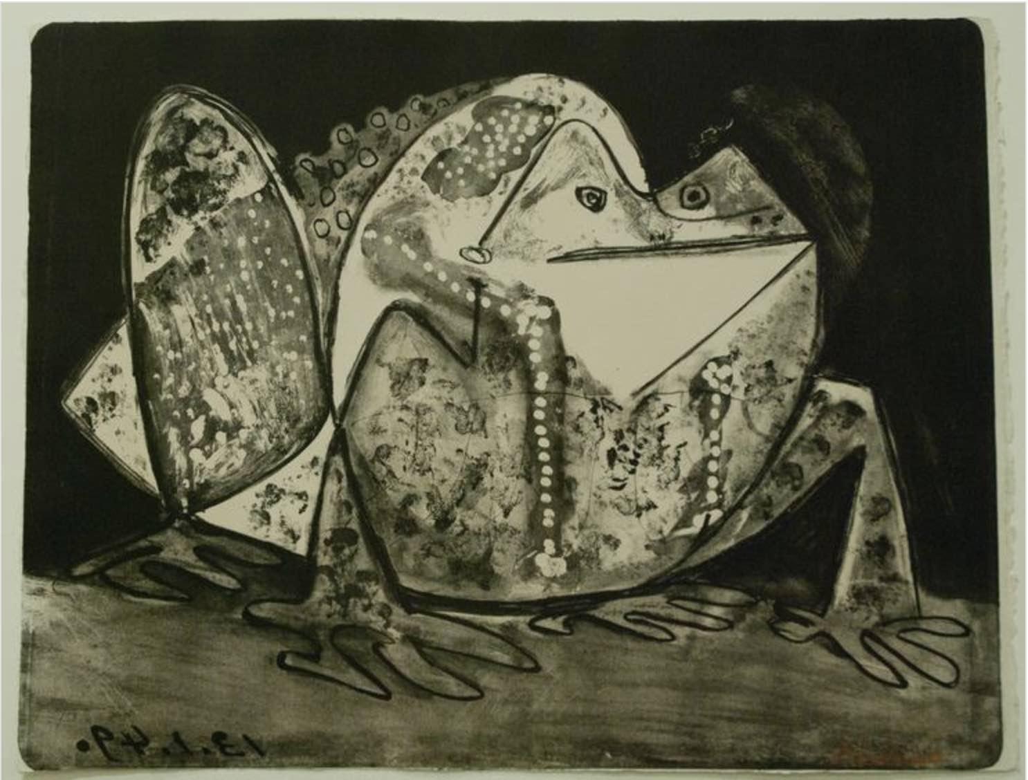 Le crapaud, de Pablo Picasso