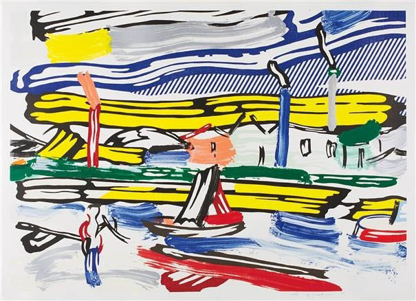Lichtenstein's Landscapes, Lichtenstein's Landscapes: A Closer Look