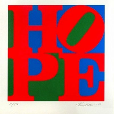 cd27a99a71e8 Classic Hope by Robert Indiana