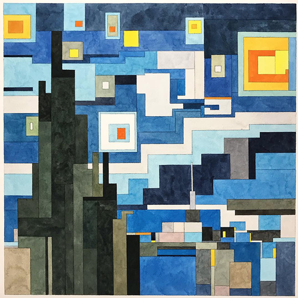 Starry Night (After Van Gogh) by Adam Lister
